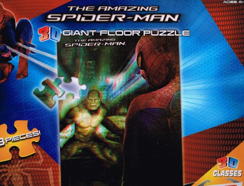 The Amazing Spider-Man 3D Giant Floor Puzzle by Toy Island