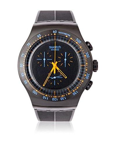 Swatch Orologio al Quarzo Man PEACH IN DARK YOB104 47 mm