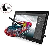 "Huion® GT-190S Tavoletta grafica con monitor 19"" penna digitale ricaricabile e guanto da disegno in regalo Compatibile con Windows e Mac"