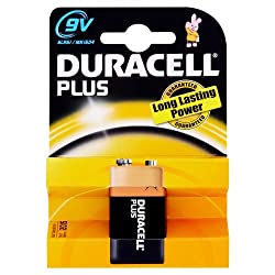 Duracell Plus MN1604 Alkaline 9 V Battery from Duracell