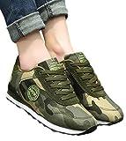 HiLIFE MARKET(ハイライフマーケット) シークレットシューズ 背が高くなる靴 スニーカー 運動靴 迷彩 メッシュ メンズ 約6㎝ヒールアップ