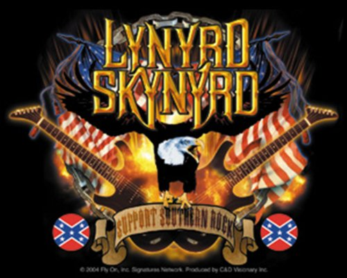 Licenses Products Lynyrd Skynyrd Guitars Sticker