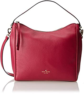 kate spade new york Charles Street Small Haven Shoulder Bag,Dark Cildro Pink,One Size