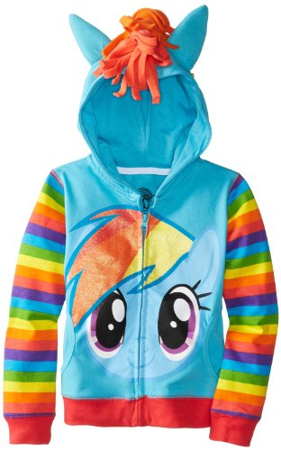 My Little Pony Rainbow Dash Hoodie Girls S (4)