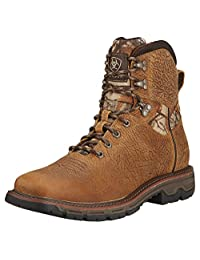 Ariat Mens Conquest 6 Inch Waterproof Boots