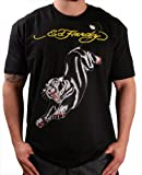 Ed Hardy By Christian Audigier Panther Mens T-Shirt Crewneck Tee