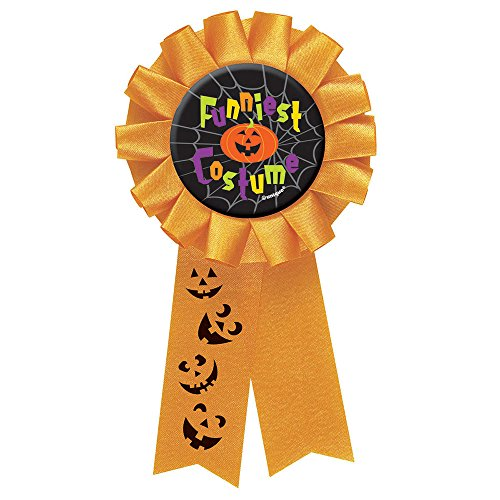 Funniest Costume Halloween Award Ribbon - 1