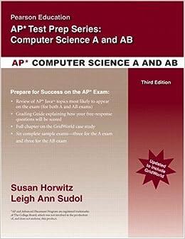 Ap computer science prep book