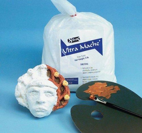 Sax Non-Toxic Ultra Mache White 12 Pounds
