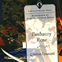 Embassy Row: A Mycroft Holmes Novel, Book 2 Audiobook by Quinn Fawcett Narrated by Alan Stanford