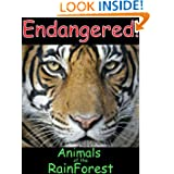 Endangered Animals Of The Rain Forest-A Picture Book For Ages (4-6) (Endangered Animals of the World)