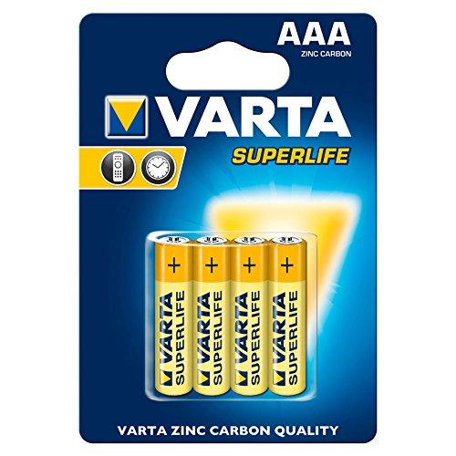 VARTA 2947 Super Life 2003 Batterie AAA Micro