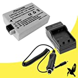 Halcyon 1800 mAH Lithium Ion Replacement Battery and Charger Kit for Canon LP-E5 and Canon EOS Rebel T1i, XS, XSi Digital Cameras