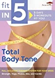 Fit in 5: Total Body Tone [DVD] [Import]