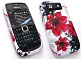 FLASH SUPERSTORE NOKIA E71 ORIENTAL FLOWERS GEL SILICON CASE/COVER/SKIN