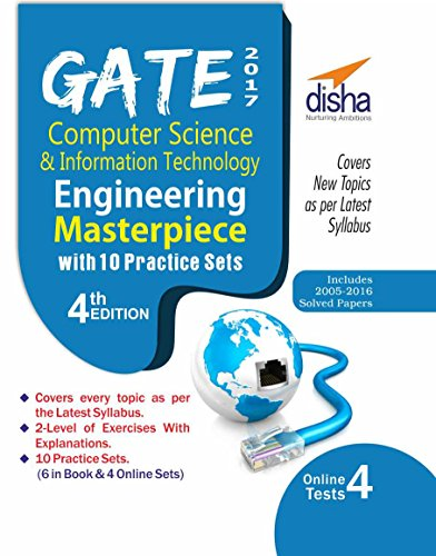 GATE 2017 Computer Science & Information Technology Masterpiece with 10 Practice Sets (6 in Book + 4 Online)
