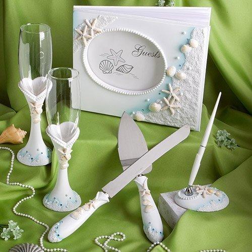 Cute Wedding Favors Of Seashells And Starfish Decor For Beach Theme Weddings