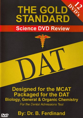 DAT Video Science Review for the Dental Admissions Test on DVD (2011)