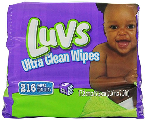 Luvs Ultra Clean Wipes 3x Refills, 864 Count