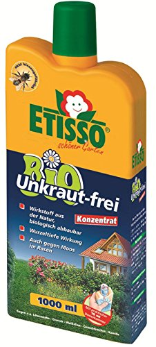 etisso 1296 855 bio unkraut frei unkrautvernichter moos algen konzentrat 1 liter. Black Bedroom Furniture Sets. Home Design Ideas