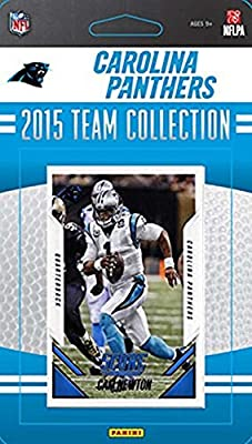 Carolina Panthers 2015 Score Factory sealed 13 Card Limited Edition NFL Team Set