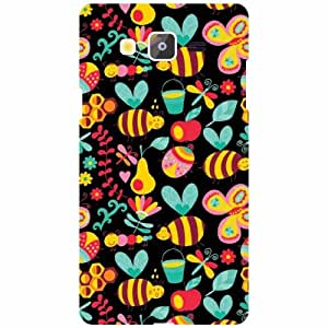 Back Cover For Samsung Galaxy On5 (Printed Designer)