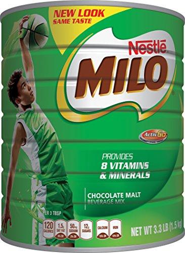 NESTLE MILO Chocolate Malt Beverage Mix 3.3 Pound Can (Milo Chocolate Drink compare prices)