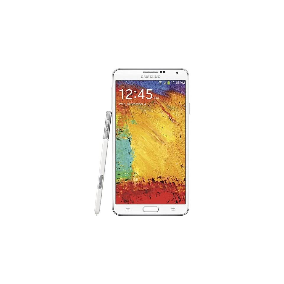 SAMSUNG GALAXY NOTE 3 III N900A UNLOCKED AT&T World Phone (WHITE)   32GB MEMORY   QUAD CORE Processor   NO CONTRACT   ONE YEAR US WARRANTY