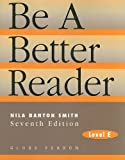 BE A BETTER READER: LEVEL E SE 97C.