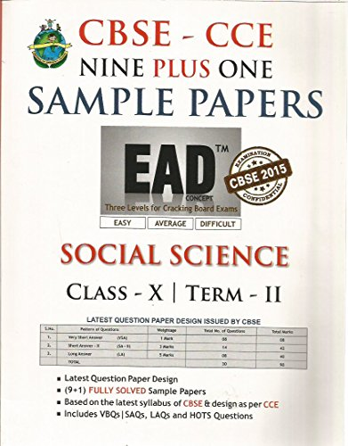EAD Social ScienceTerm 2 - 10