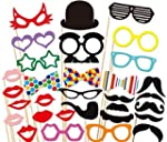 32pcs Photo Booth Props Accessories S...