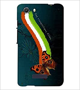 PRINTSWAG INDEPENDENCE DAY Designer Back Cover Case for MICROMAX Q372 UNITE 3