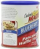 Golden Malted Pancake & Waffle Flour, Blueberry, 16-Ounce Can