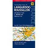 AA Road Map Languedoc-Roussillon (AA Touring Map France 10) (Road Map France)