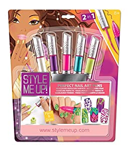 Style Me Up! 2 in 1 Perfect Nail Markers Set