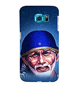 Om Sri Sai Adrishyaaya 3D Hard Polycarbonate Designer Back Case Cover for Samsung Galaxy S6 :: Samsung Galaxy S6 G920