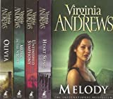 Virginia Andrews Logan Family 5 Book Set RRP £34.95: Melody, Heart Song, Unfinished Symphony, Music in the Night & Olivia (Logan Family Series)