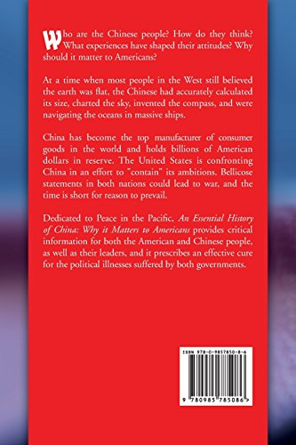 An Essential History of China: Why it Matters to Americans