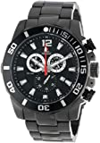 Swiss Precimax Men's SP13252 Crew Pro Black Dial with Black Stainless Steel Band Watch