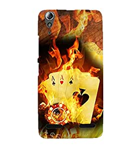 Doyen Creations Designer Printed High Quality Premium case Back Cover For Lenovo A6010 Plus