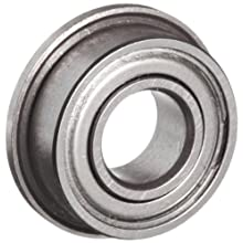 10 Flanged Shielded 5 x 11 x 4 mm Ball Bearings