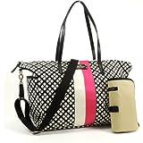 Kate Spade Classic Spade Adaira Baby Bag in Black & Cream