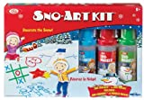 POOF-Slinky 0C8322BL Ideal Sno-Art Kit with Various Color Sno-Markers and Sno-Molds