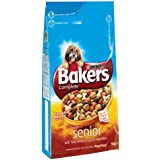 Bakers Complete Senior with Tasty Chicken and Country Vegetables Dog Food 5 kg