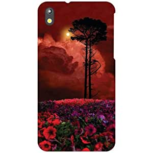 HTC Desire 816G Back cover - Bunch Of Flowers Designer cases