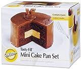 Wilton 2105-155 Mini Tasty Fill 4-Piece Pan Set