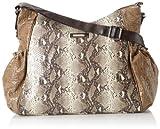 Kenneth Cole Reaction Magnolia Hobo Diaper Shoulder Bag,Mushroom/Snake,One Size