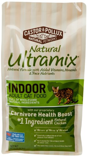 Detail image Ultramix Indoor Dry Cat Food, 44 Ounce