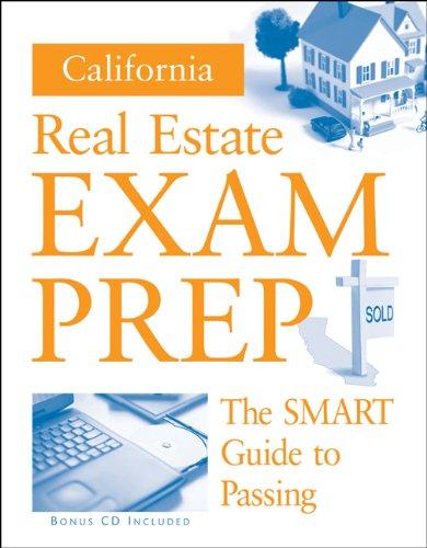 PKG: CALIFORNIA REAL ESTATE PREP GUIDE + CD (Real Estate Exam Preparation Guide)