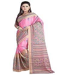 SB Creations Women's Turcky Silk Saree (SB_099_Multi)